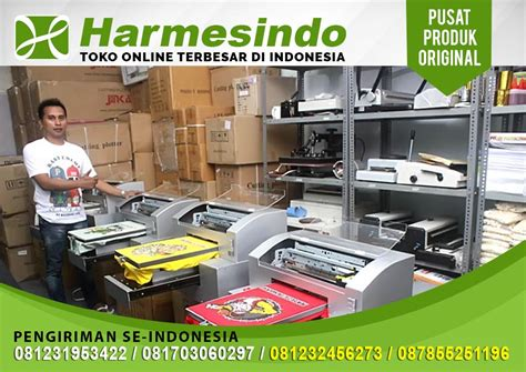 Printer Sablon Kaos Dtg A3 mesin sablon kaos printer dtg harmesindo