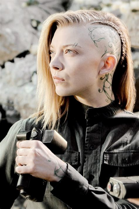 Natalie Dormer In Hunger The Hunger Natalie Dormer Awesome Hairstyle