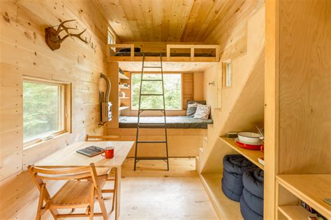 tiny houses pictures inside and out the ovida getaway tiny house in the woods