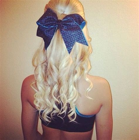 Cheerleading Hairstyles by Cheer Hair Hair To Dye For Cheer Bows And