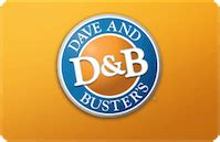 Dave And Busters Gift Cards - buy dave busters gift cards discounts up to 35 cardcash