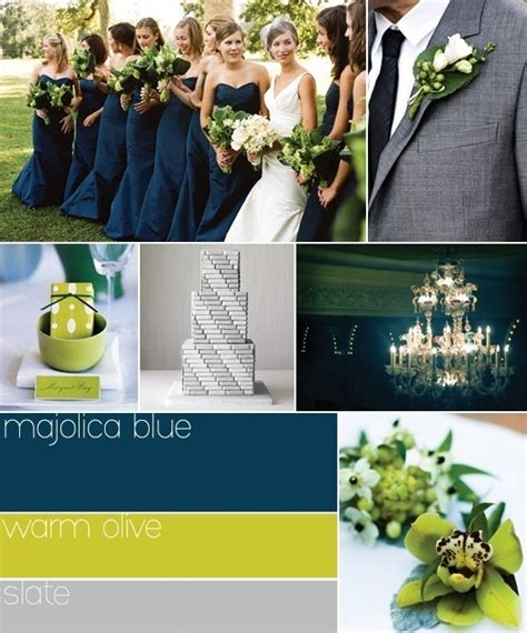 green and gray wedding colors blue green and gray wedding colors events