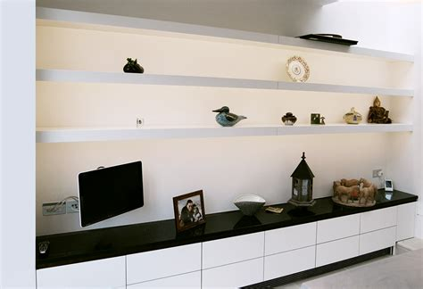 Free floating shelves dulwich design and build