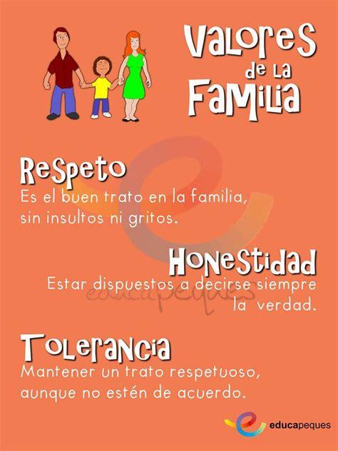 imagenes de la familia en los valores infograf 237 a valores en la familia