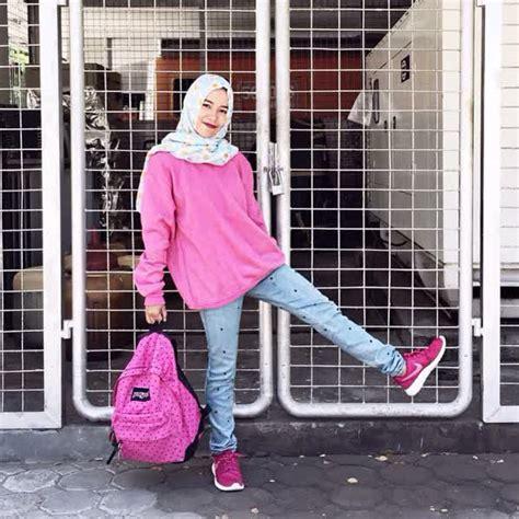 Sepatu Kets Sporty Rd29 Pink buat kamu yang engga suka dandan gaya cewek tomboy ini