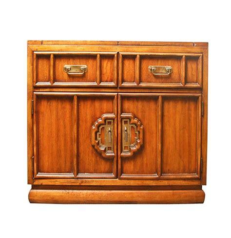 Vintage Stanley Furniture Wooden Bar Cabinet Wooden Bar