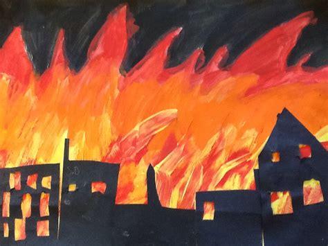 painting ks1 ocarina performance and work s burning year