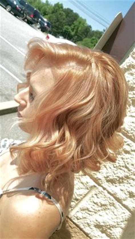 is rose gold haircolor the same as strawberry blonde haircolor how to get rose gold hair with overtone highlights how