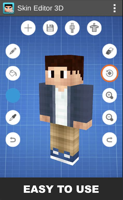 Play Store Minecraft Skin Editor 3d For Minecraft Android Apps On Play