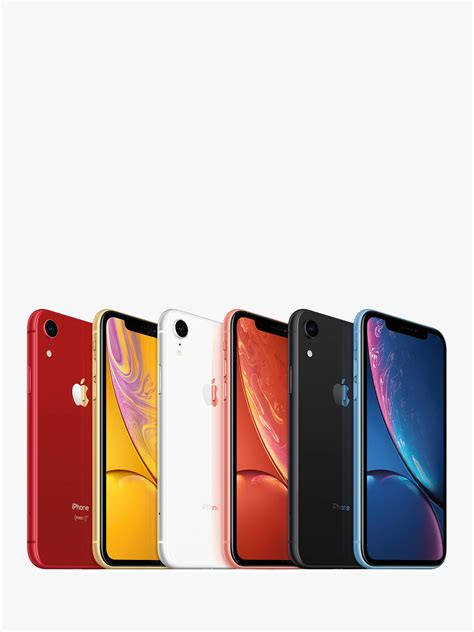 apple iphone xr ios 6 1 quot 4g lte sim free 128gb at lewis partners