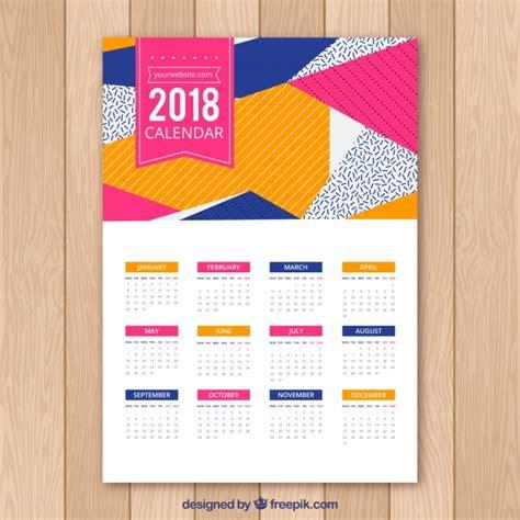 delaware design lab calendar 2018 calendrier abstrait t 233 l 233 charger des vecteurs