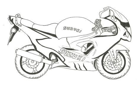 Motorrad Bilder Gezeichnet by Sommerwind Motorrad