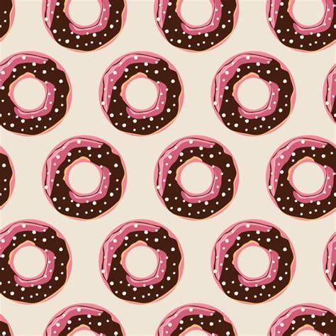 Premium Donut donuts pattern design vector premium