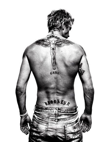 tattoo david beckham back david beckham by platon inked pinterest beckham