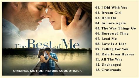 best of me the best of me o s t soundtrack various artists