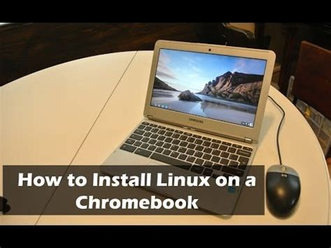 How To Install Ubuntu Linux On Your Chromebook With Crouton | how to install ubuntu linux on chromeos chromebook