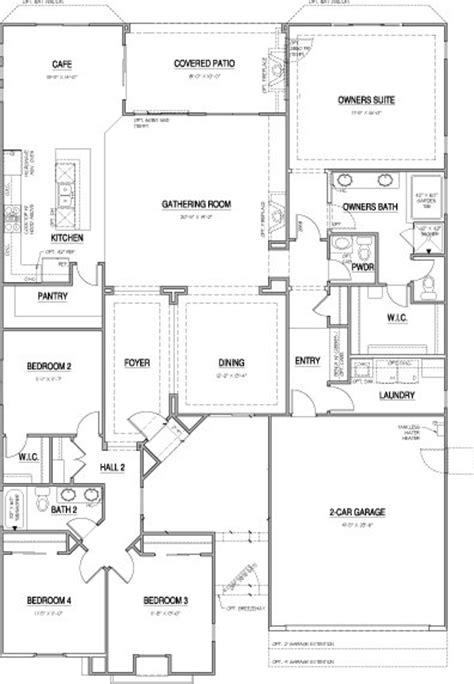 laurel pointe floor plans new homes in vista