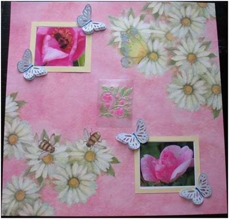 Make Your Own Scrapbook Paper - make your own scrapbook embellishments think crafts by