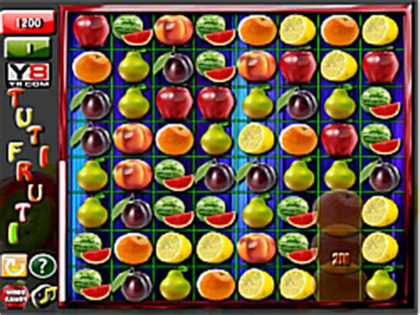 play tuti fruti  y8 game online y8.com
