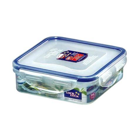 Vacuum Seal Penutup Kontainer Kedap Udara jual lock lock square food container 430 ml