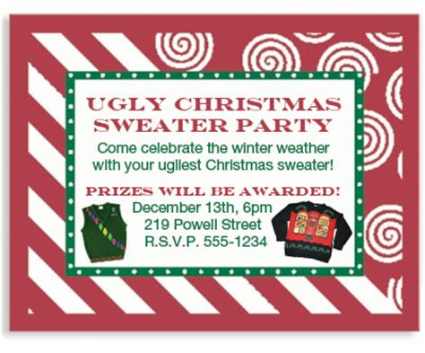 christmas party award ideas how to host an sweater paperdirect