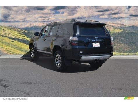 toyota 4runner 2017 black 2017 midnight black metallic toyota 4runner trd road