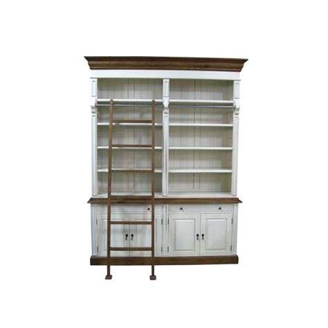 european design provincial two bay bookcase with