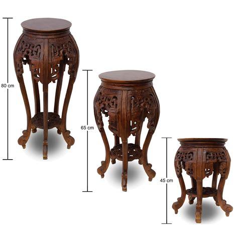 Beistelltisch Nachttisch by Beistelltisch Nachttisch Rundhocker Blumenhocker Teak Holz