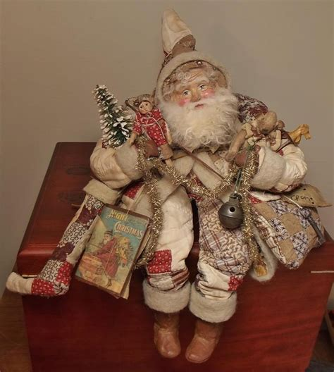 Handmade Santas - 17 best images about santas on folk