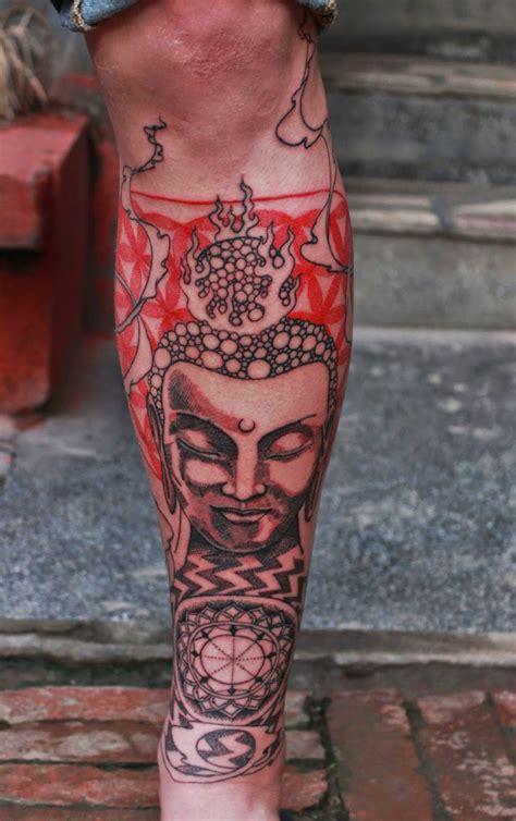 nepali tattoo funky buddha thamel kathmandu
