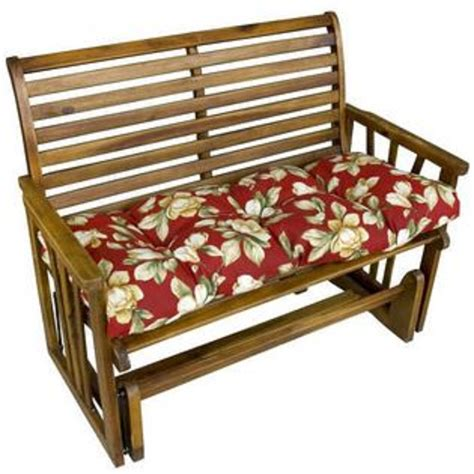 44 inch outdoor bench cushion greendale home fashions 44 inch outdoor swing bench