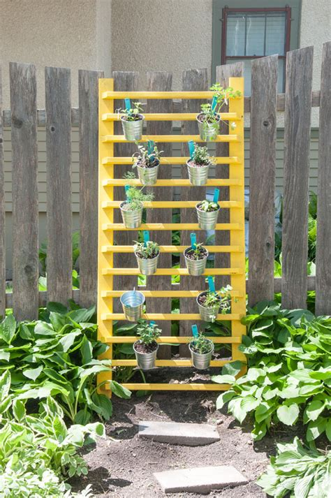 diy vertical herb garden how to diy a vertical herb garden for under 100