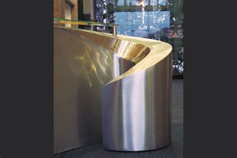 stainless steel reception desk desks and cabinets bespoke study definitive1