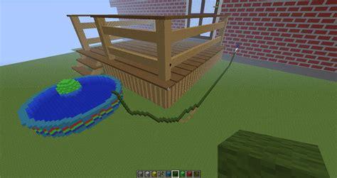 Backyard ideas minecraft Outdoor furniture Design and Ideas