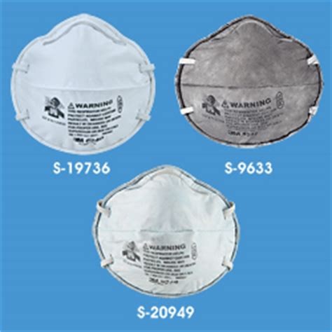 n95, n100, r95 and p95 3m specialty respirators in stock
