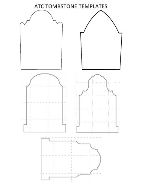 Templates For atc tombstone templates docx card scrap printables
