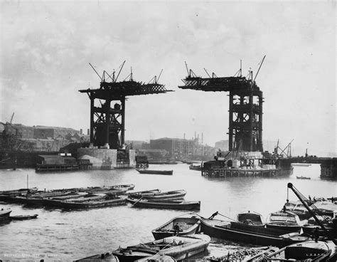old boat london bridge tower bridge pictures reveal the makings of a 120 year old