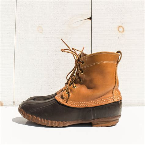 bean boots for size 9 s vintage ll bean duck boots maine