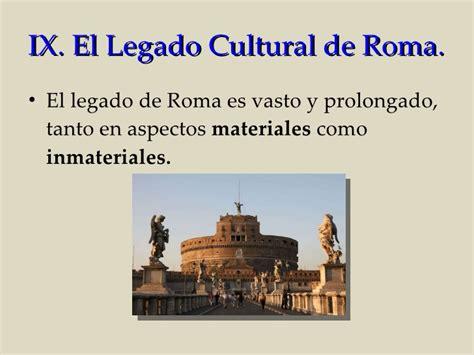 el legado romano en occidente youtube roma