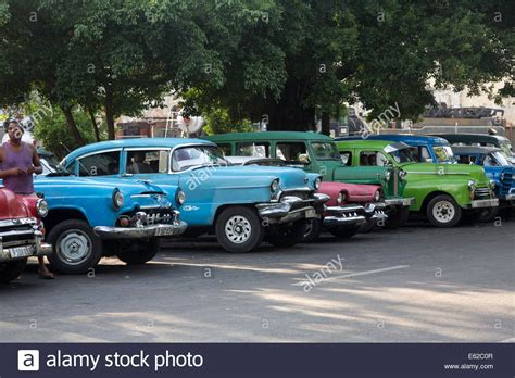 american trucks of the 1950s those were the days books 1950s cars cuba stock photo royalty free