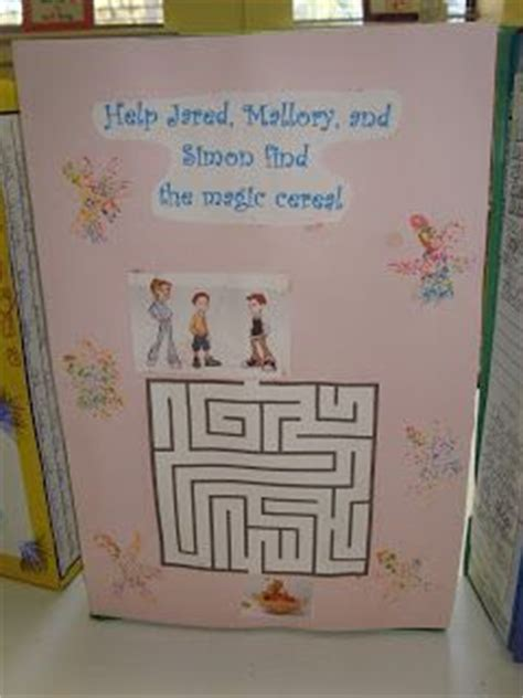cereal box book reports fourth grade 17 best images about reading project on maze