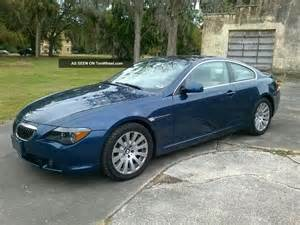 2005 bmw 645ci base coupe 2 door 4 4l