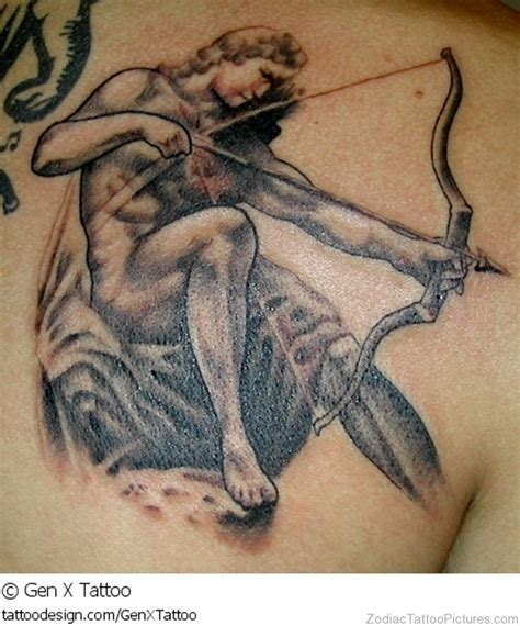 tattoo designs sagittarius 40 impressive sagittarius tattoos on back