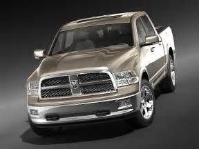 dodge ram 1500 crew cab 2009 3d model max 3ds cgtrader