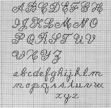 back stitch words pattern maker 22 best images about cross stitch alphabets on pinterest