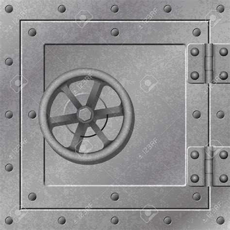 bank vault door clipart 71