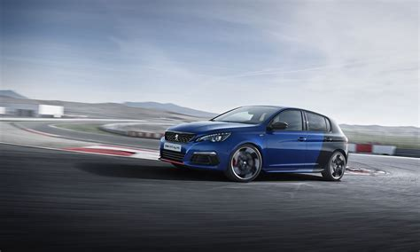 peugeot 308 gti blue new peugeot 308 gti by peugeot sport discover the