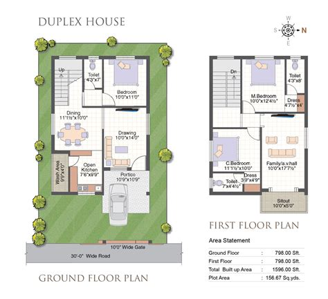 duplex floor plans india duplex house plans hyderabad studio design gallery best design
