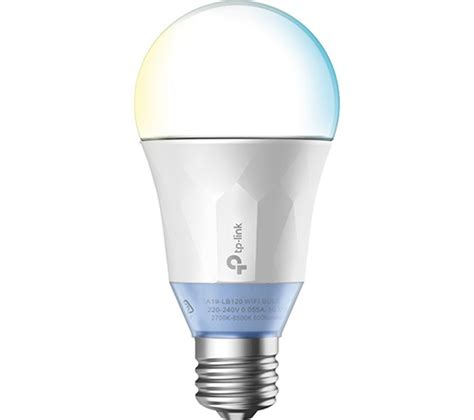 tp link smart led light bulb buy tp link lb120 smart wifi led bulb with tunable white