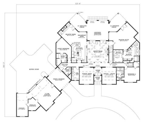 porte cochere plans 84 best images about house plans on pinterest 2nd floor